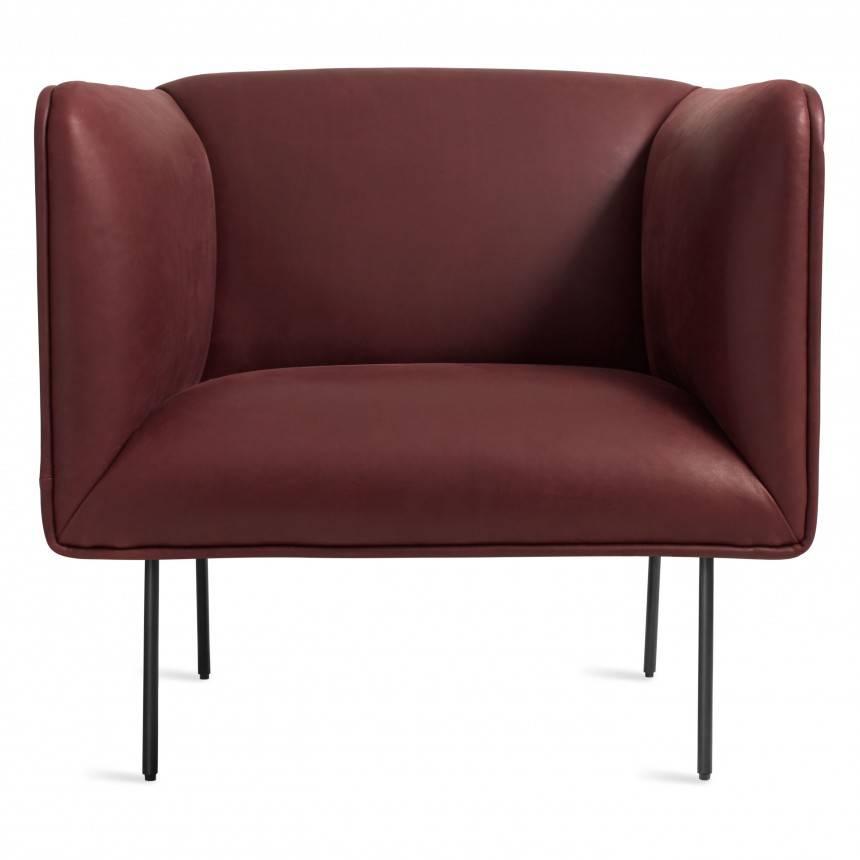 Blu Dot Dandy Leather Lounge Chair
