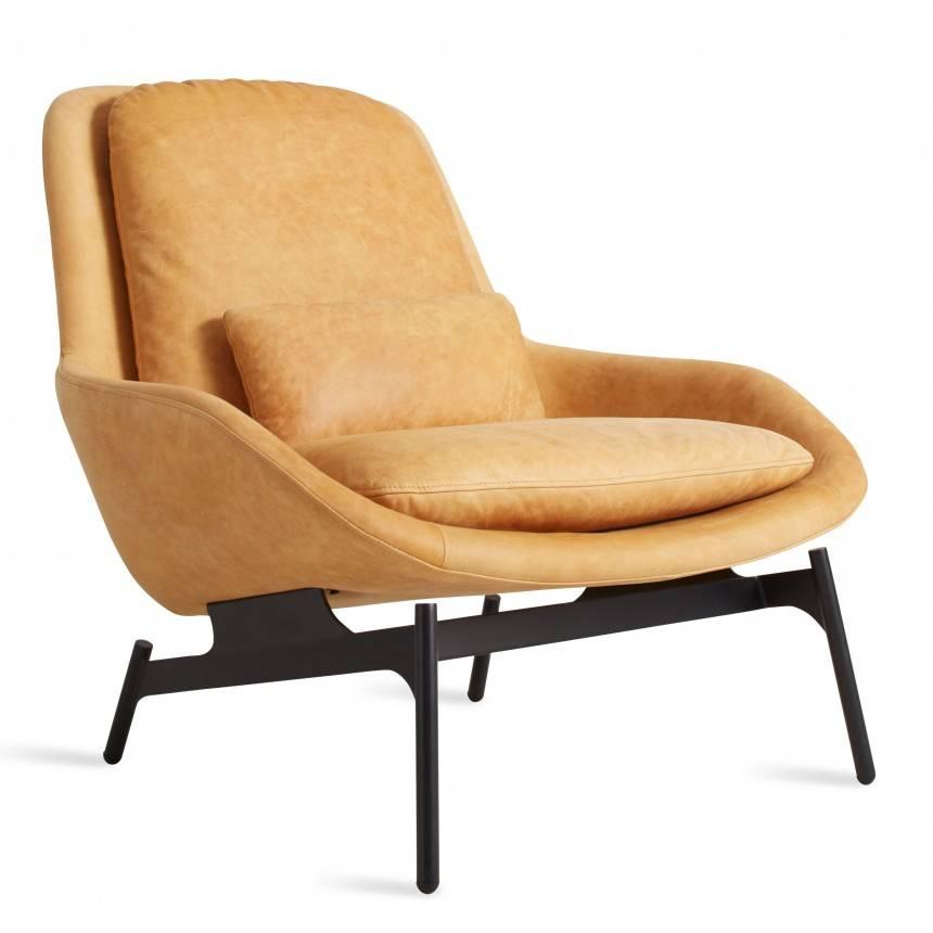 Blu Dot Field Leather Lounge