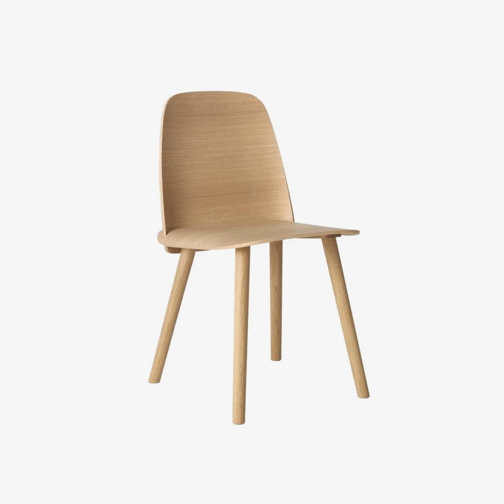Muuto Nerd Chair     - Oak