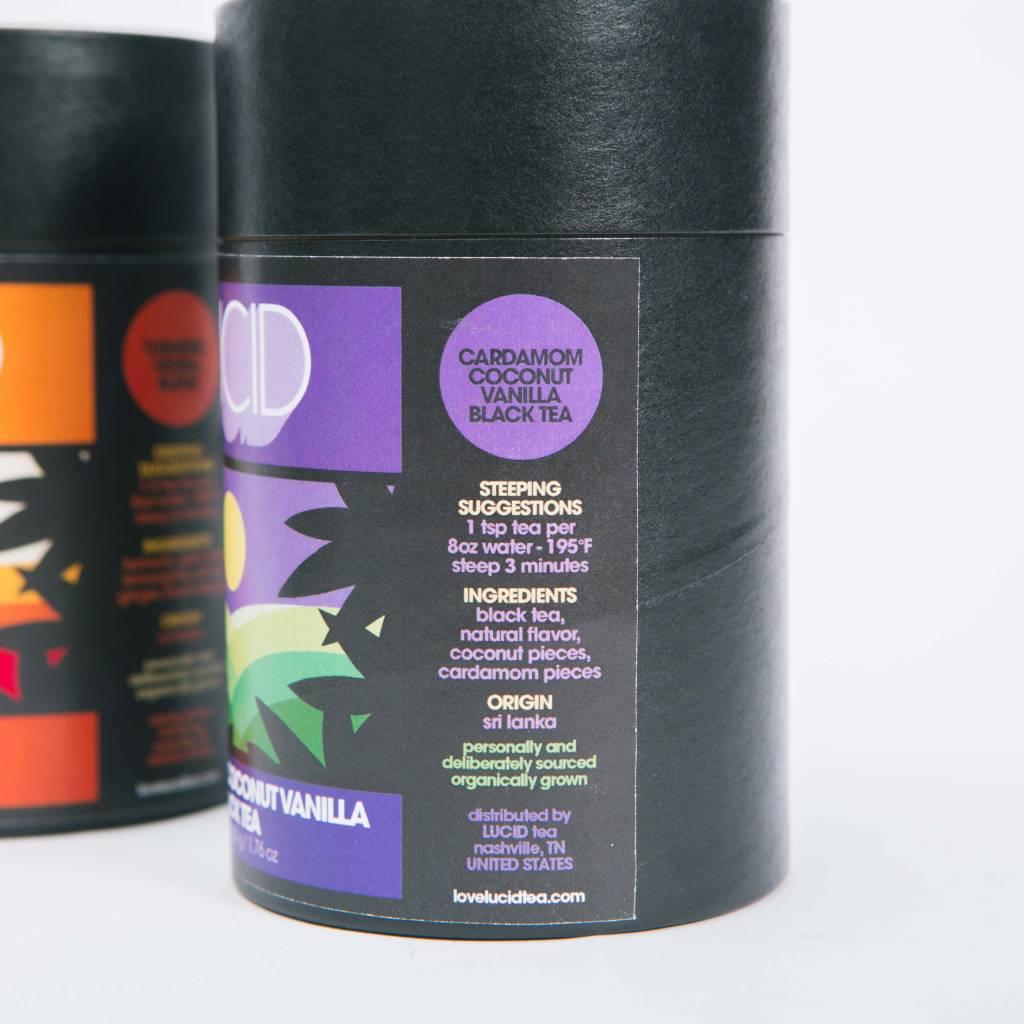 Lucid Tea Cardamom Coconut Vanilla Black Tea