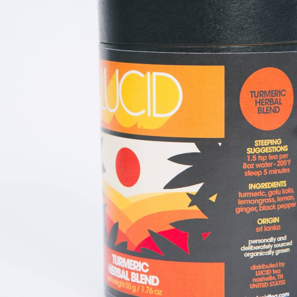 Lucid Tea Turmeric Herbal Blend