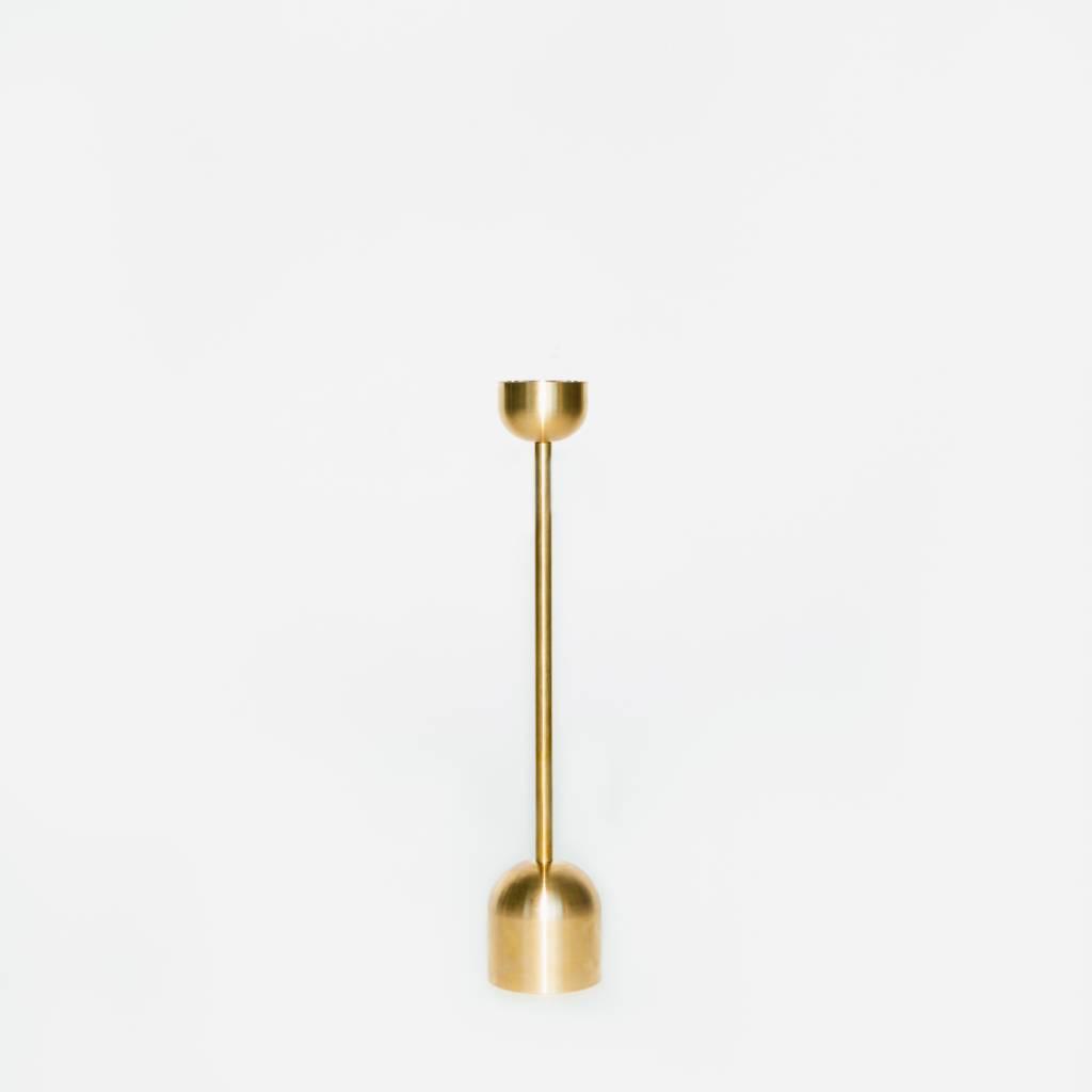 Fort Standard Brass Candle Holder