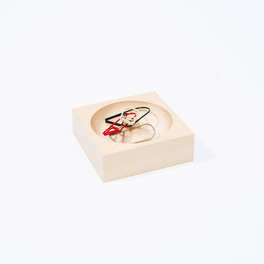 Scanwood Paperclip Holder