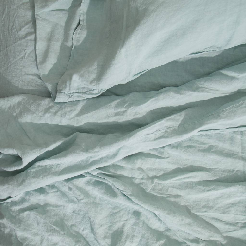 Hawkins NY Simple Linen Fitted Sheet