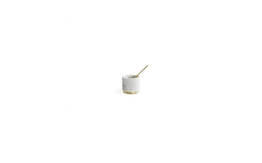 Hawkins NY Mara Marble Sugar Pinch Pot