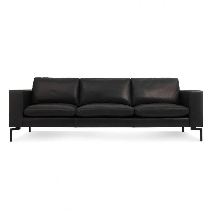 Blu Dot New Standard Leather Sofa