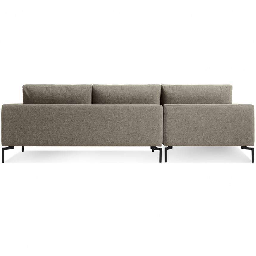 Blu Dot New Standard Sofa W/ Left Arm Chaise Fabric