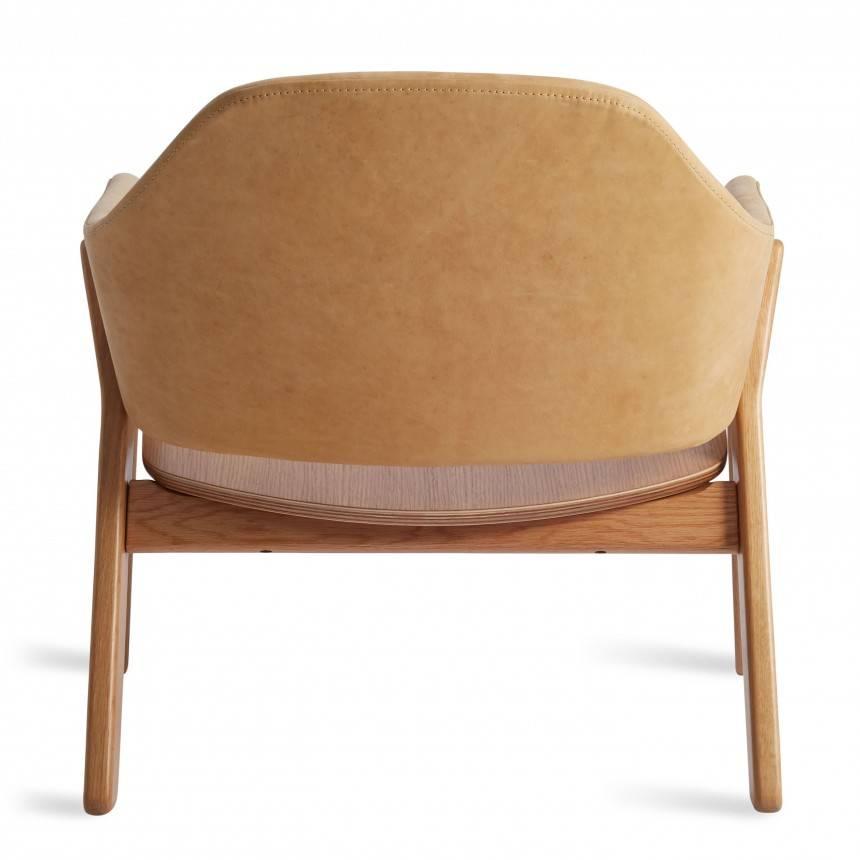 Blu Dot Clutch Leather Lounge Chair
