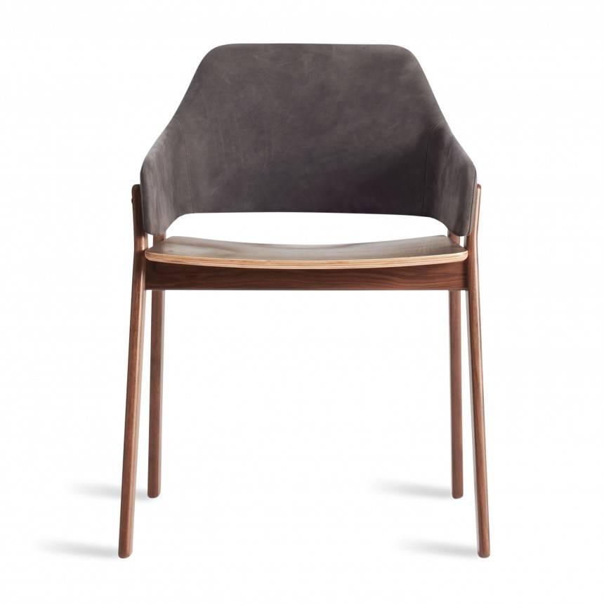 Blu Dot Clutch Leather Chair