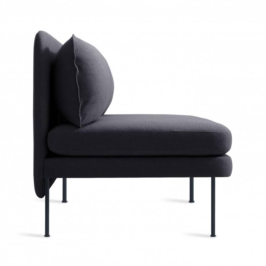 "Blu Dot Bloke 60"" Armless Sofa"