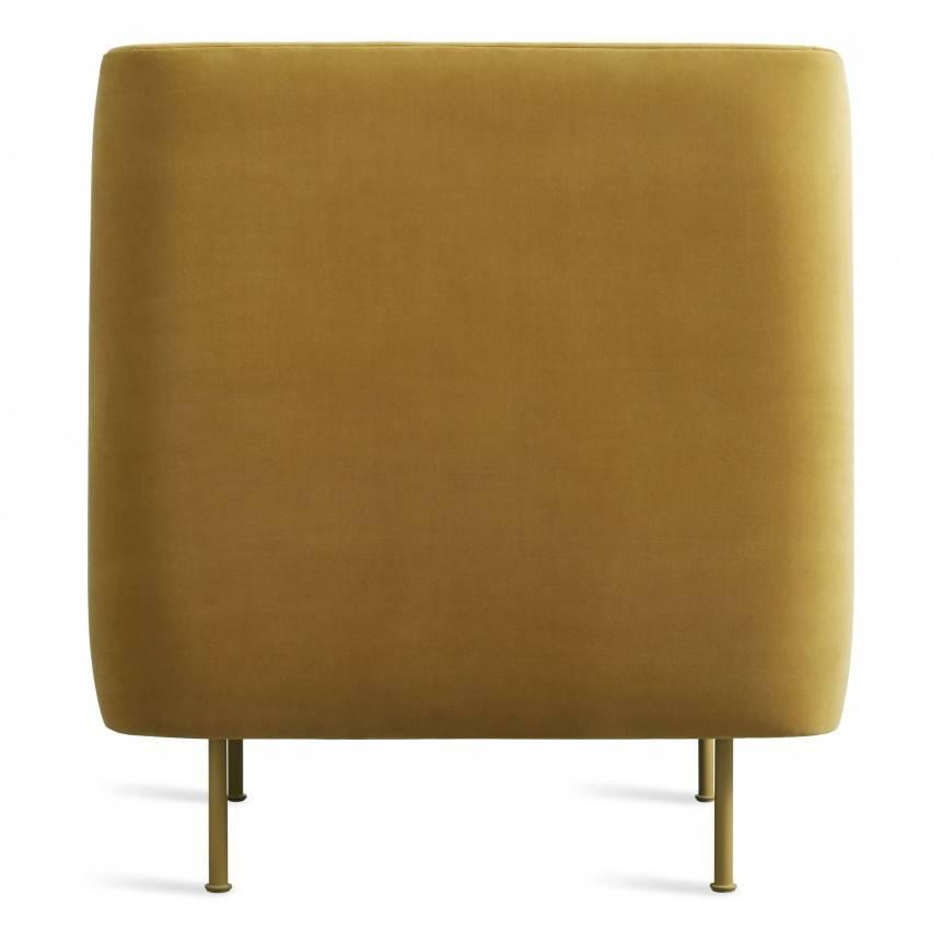 Blu Dot Bloke Velvet Lounge Chair