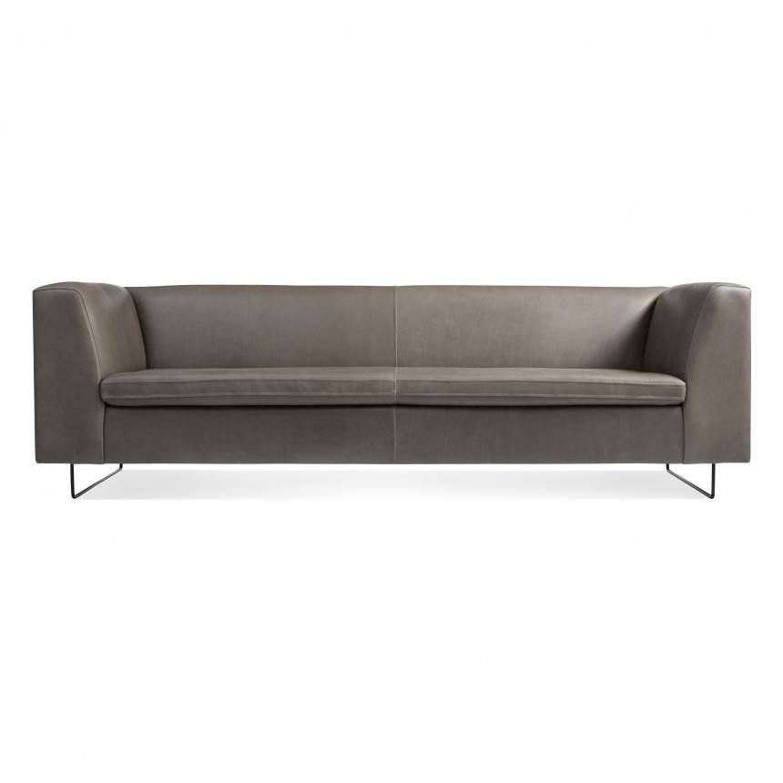 Blu Dot Bonnie Leather Sofa