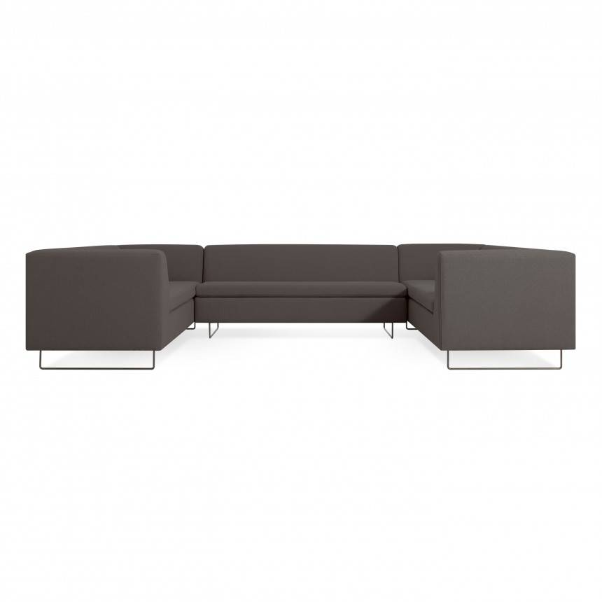 Blu Dot Bonnie and Clyde U-Shaped Sectional Sofa