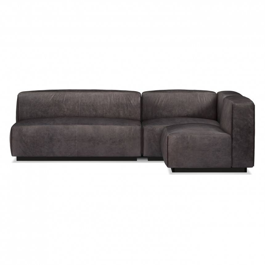 Blu Dot Cleon Leather Sectional