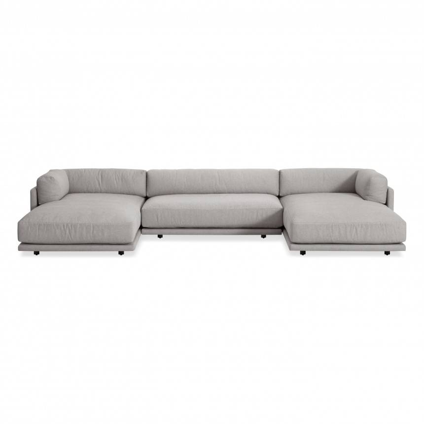 Blu Dot Sunday U-Shaped Sectional Sofa