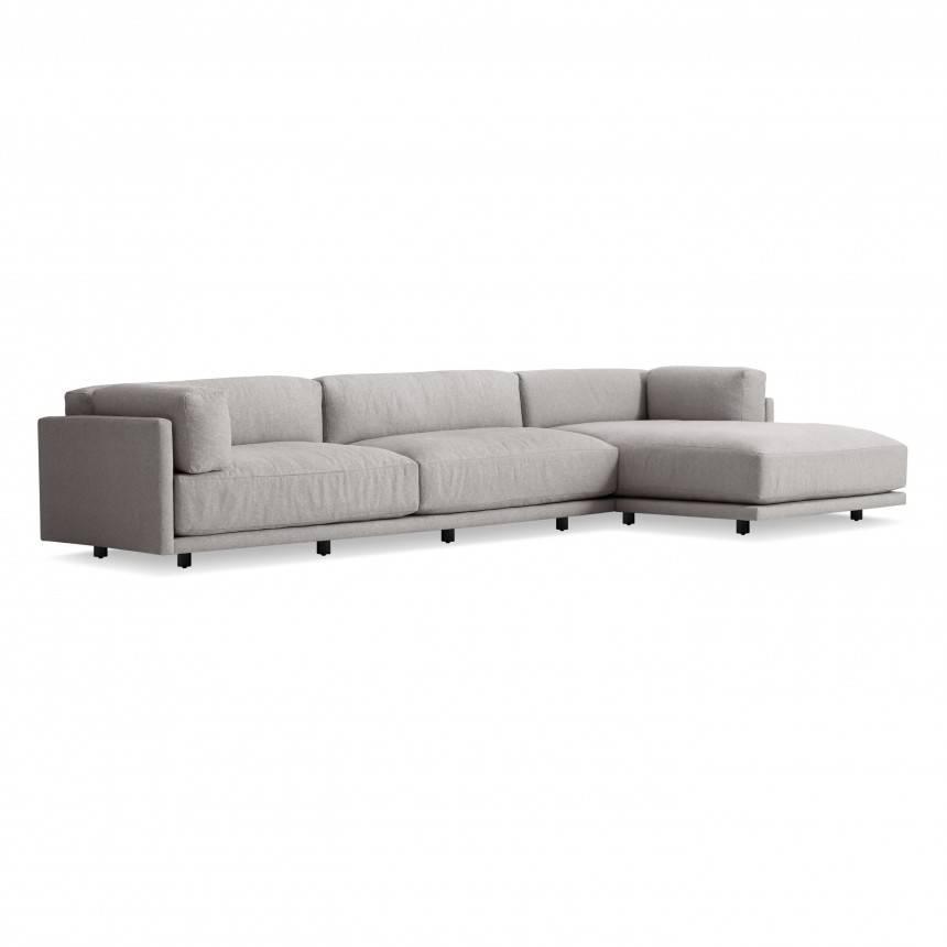 Blu Dot Sunday Sofa w/ Chaise