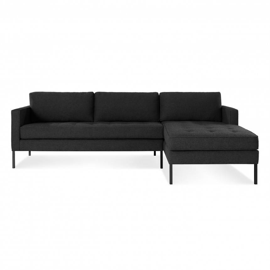 Blu Dot Paramount Sofa with Right Arm Chaise