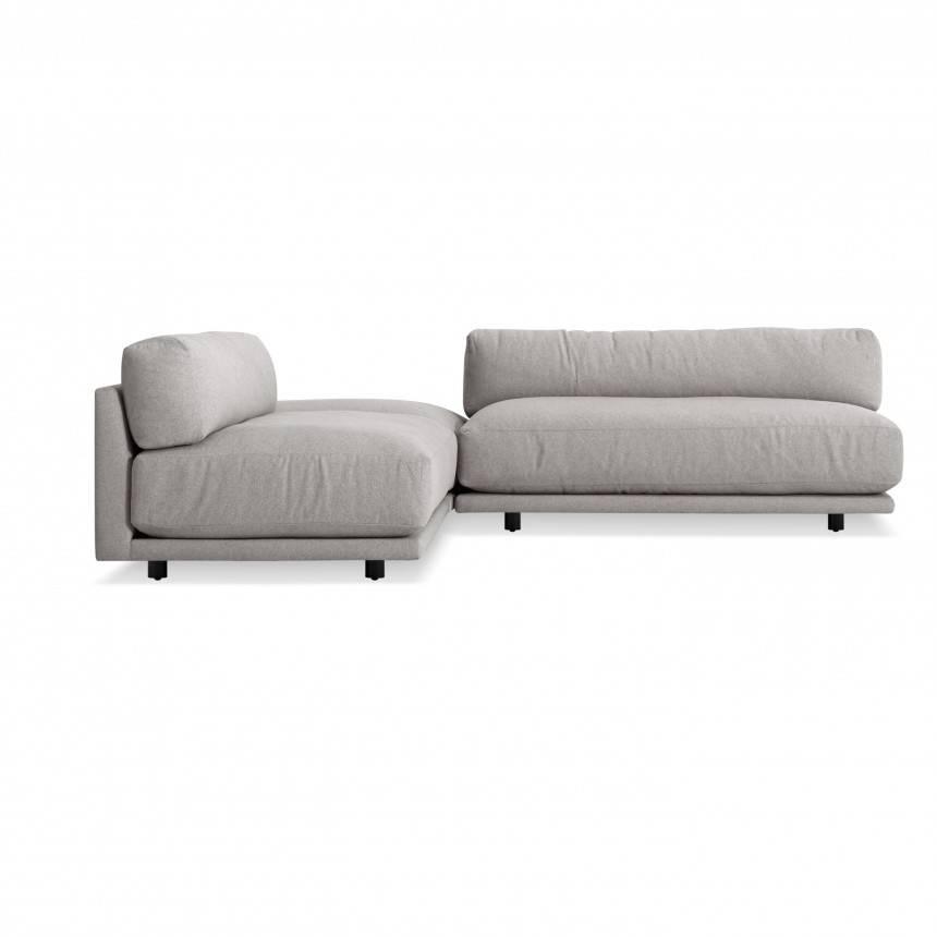 Blu Dot Sunday L Sectional Sofa - Small