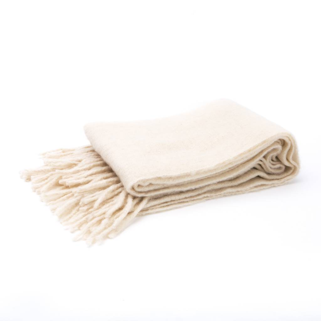 Hawkins NY Simple Mohair Throw