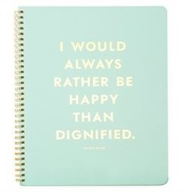 KATE SPADE CAHIER SPIRAL BE HAPPY