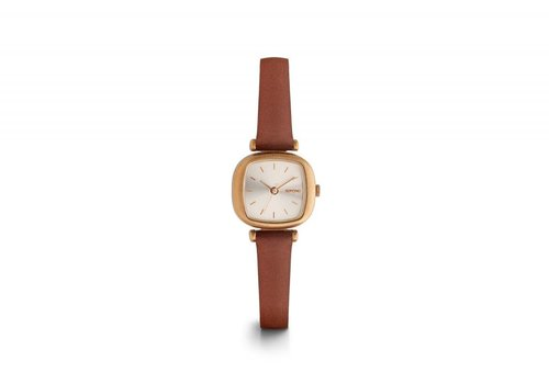 KOMONO MONTRE MONEYPENNY - ROSE GOLD BROWN