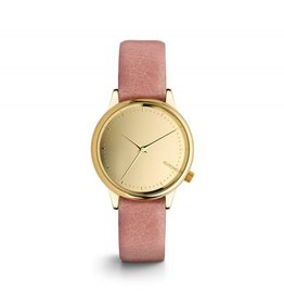 KOMONO MONTRE ESTELLE MIRROIR - GOLD/BLUSH