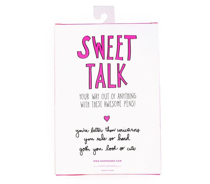 ENSEMBLE DE 3 CRAYONS- SWEET TALK
