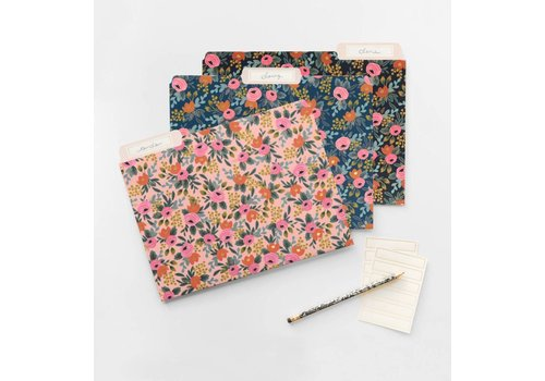 RIFFLE PAPER CO. ENSEMBLE DE 6 CHEMISES- LIVELY FLORAL