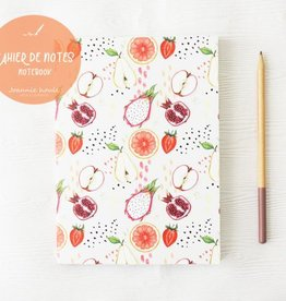 JOANNIE HOULE CAHIER DE NOTES- FRUITS