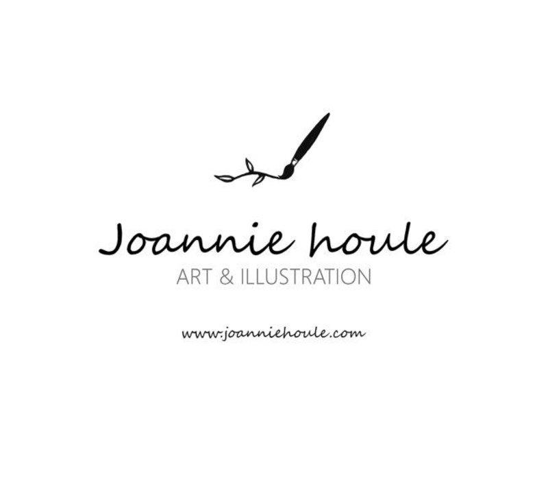 AFFICHE JOANNIE HOULE- PÊCHE