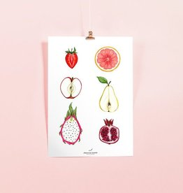 JOANNIE HOULE AFFICHE JOANNIE HOULE- FRUITS