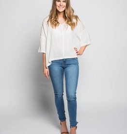 GENTLE FAWN BLOUSE OLIVE