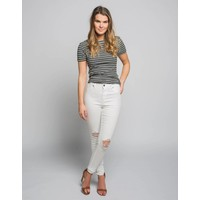 PANTALONS HIGH SPRAY OFF WHITE