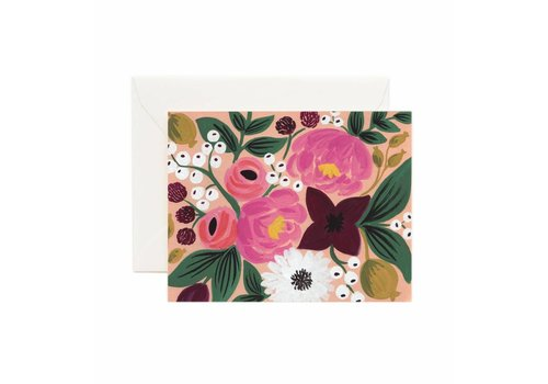 RIFFLE PAPER CO. CARTE VINTAGE PEACH
