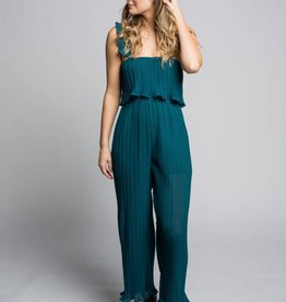 DARLING PLAYSUIT LETTY- TEAL