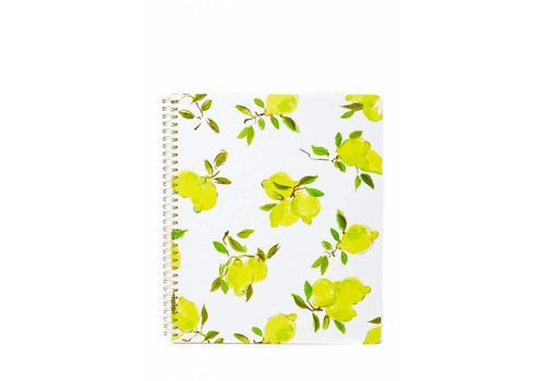 KATE SPADE LARGE SPIRAL NOTEBOOK- CITRON