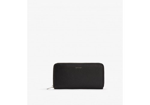 Matt & Nat PORTE-FEUILLE CENTRAL - BLACK