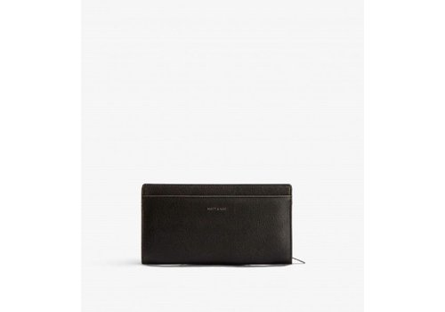 Matt & Nat PORTE-FEUILLE WEBBER - BLACK