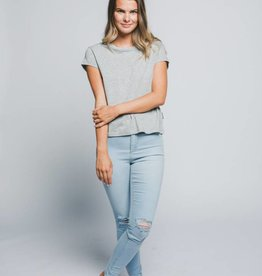 CHEAP MONDAY HAVE TEE GRIS