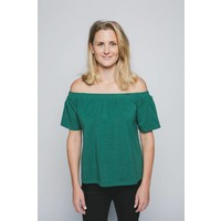 OFF THE SHOULDER TEE - TROPICAL
