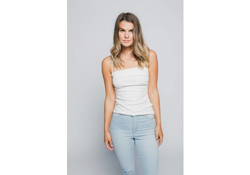 MINKPINK CAMISOLE OVER THE HORIZON- BLANCHE