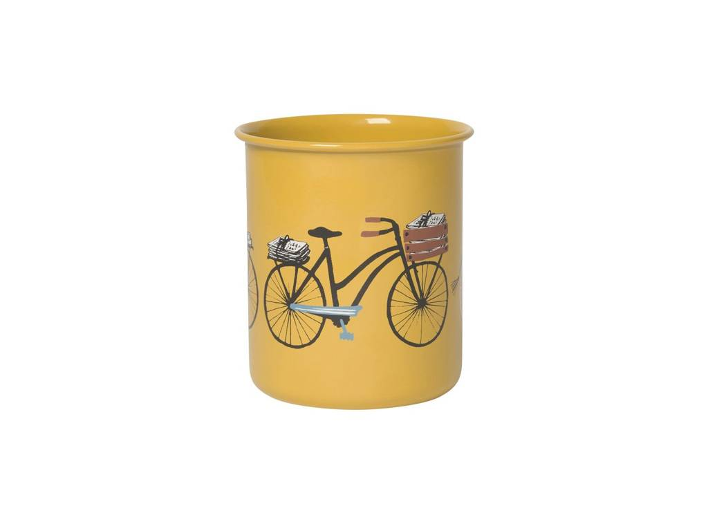 DANICA VERRE JAUNE - BICYCLETTE