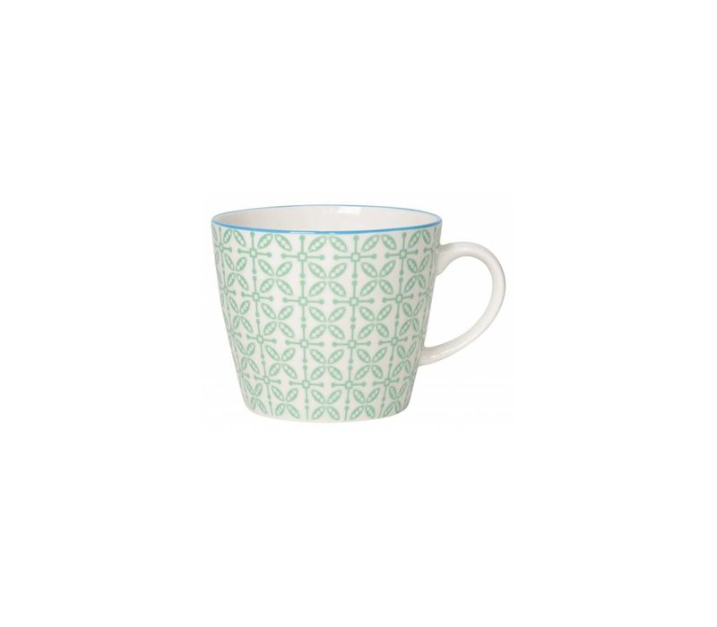 TASSE 12 OZ JADE CROSS