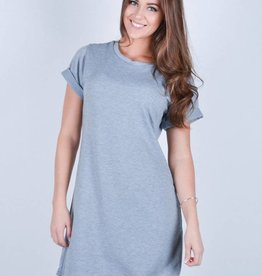 DAILYSTORY ROBE BASIQUE- GRIS