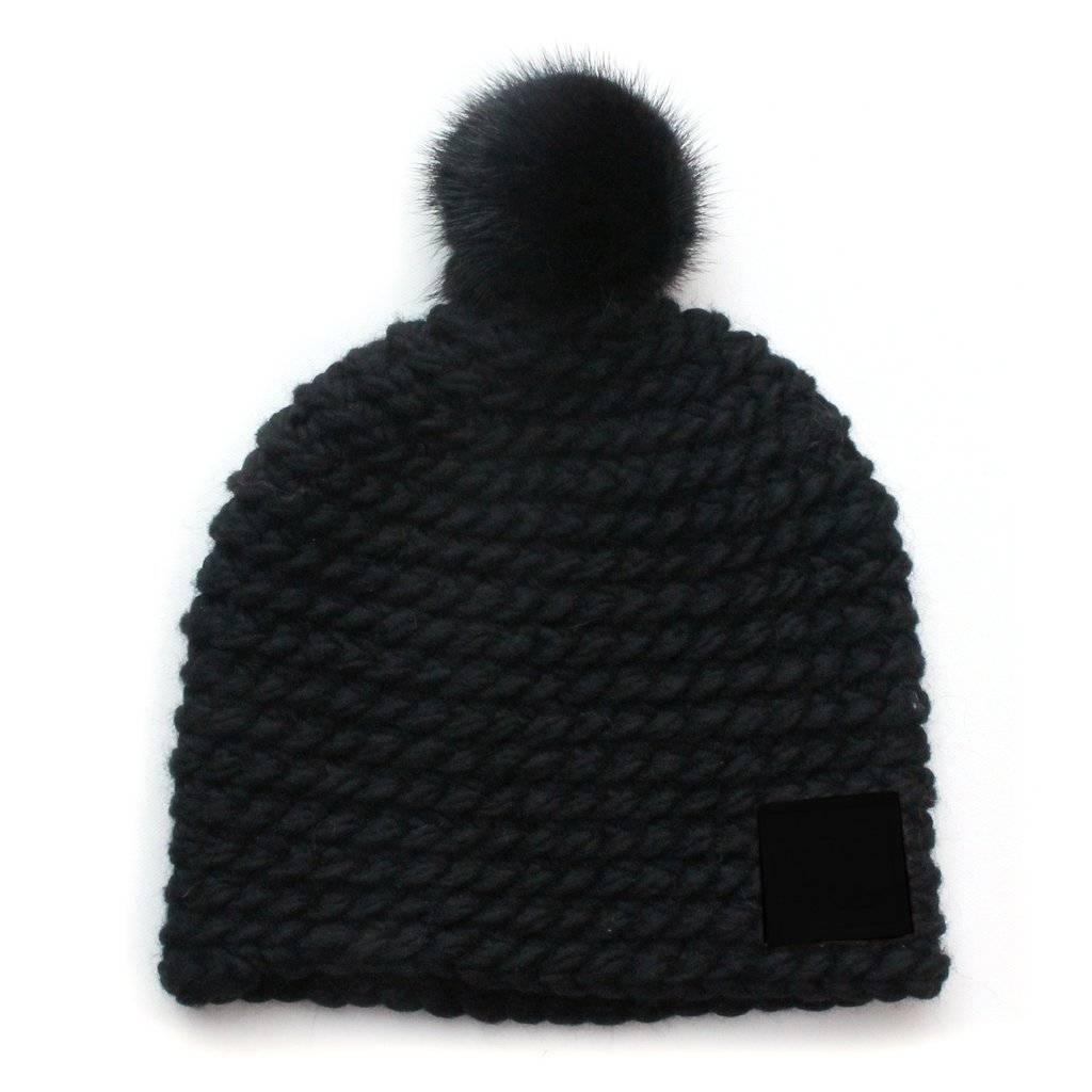 GIBOU TUQUE DOUBLÉE - BLACK ON BLACK