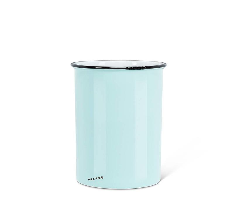 POT ENAMEL CROCK- BLEU