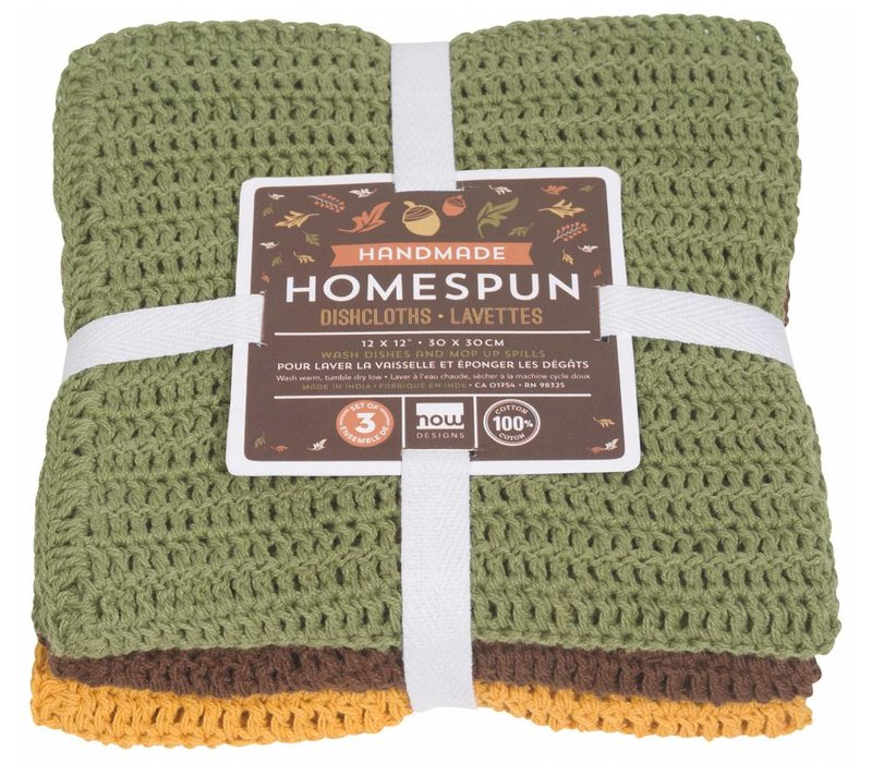ENSEMBLE DE 3 LINGE A VAISELLE HOMESPUN