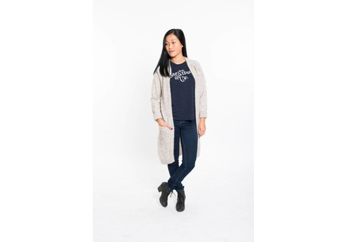 MINIMUM CARDIGAN KERSTIN- COBBLESTONE