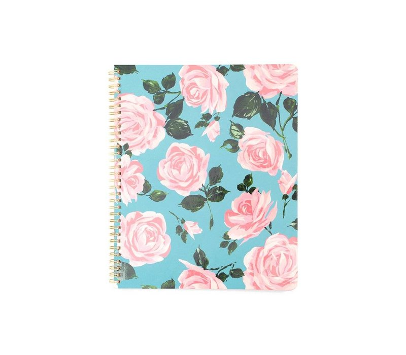 LARGE NOTEBOOK- ROSE PARADE