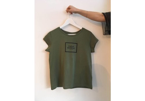 CHEAP MONDAY T-SHIRT HAVE TEE- OLIVE